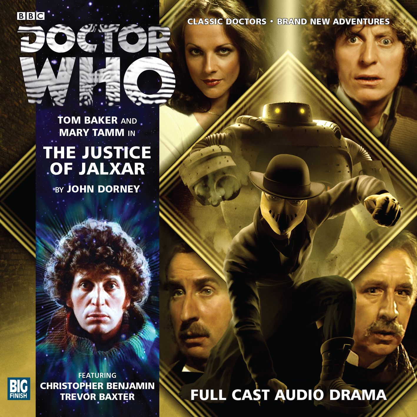 Fourth Doctor Adventures: The Justice of Jalxar (Credit: Big Finish)