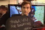 Comic Relief 2013: David Tennant (Credit: BBC One, via Facebook)