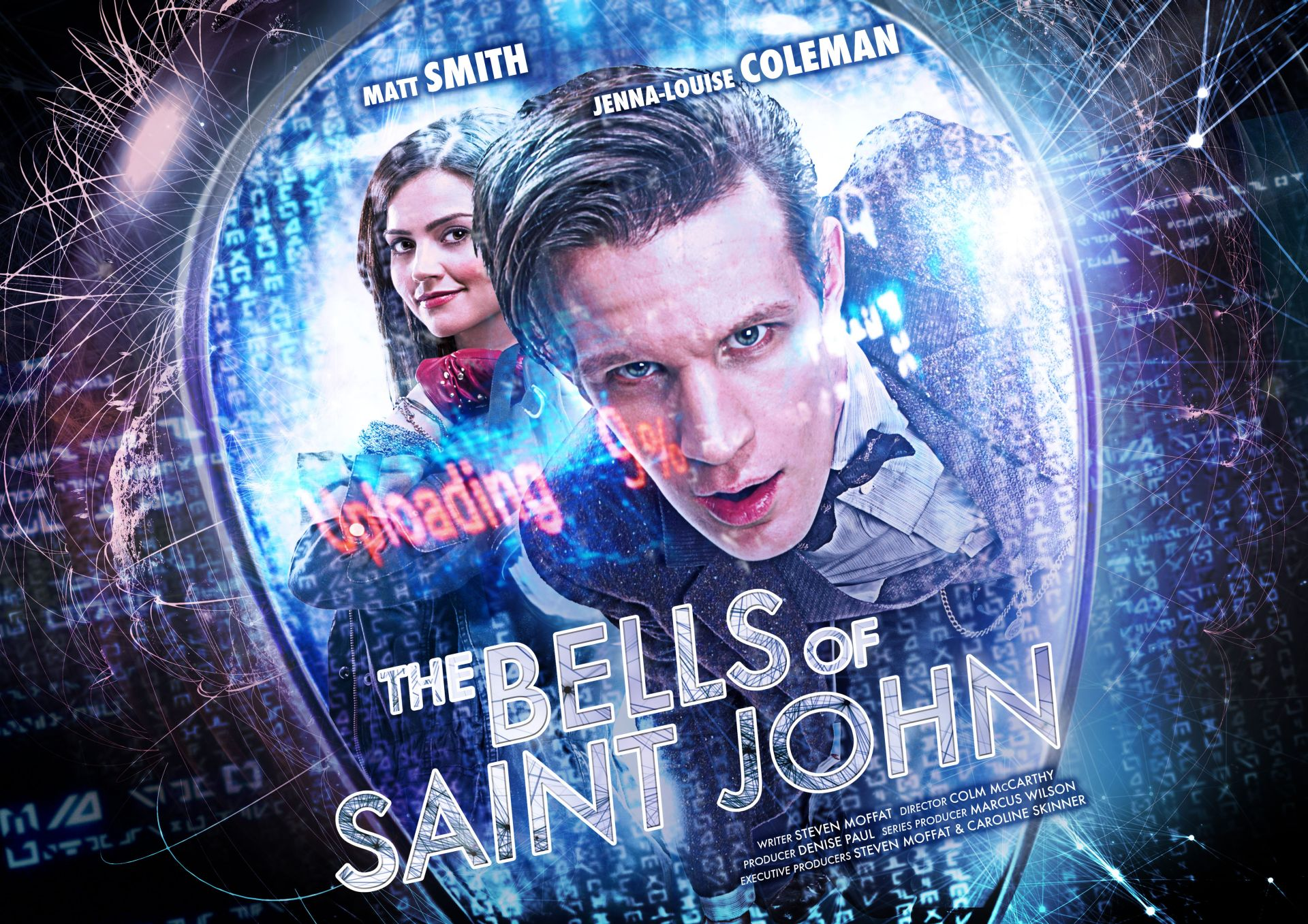 The Bells of Saint John: Publicity Poster (Credit: BBC/Adrian Rogers/Ray Burmiston)