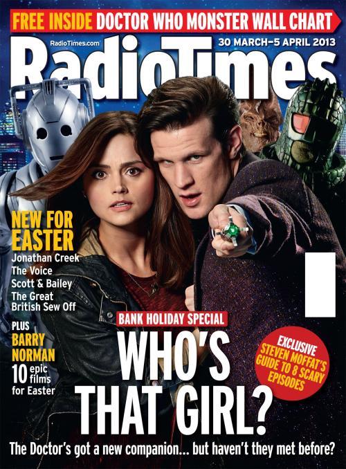Radio Times (30 Mar - 5 Apr 2013) (Credit: Radio Times)